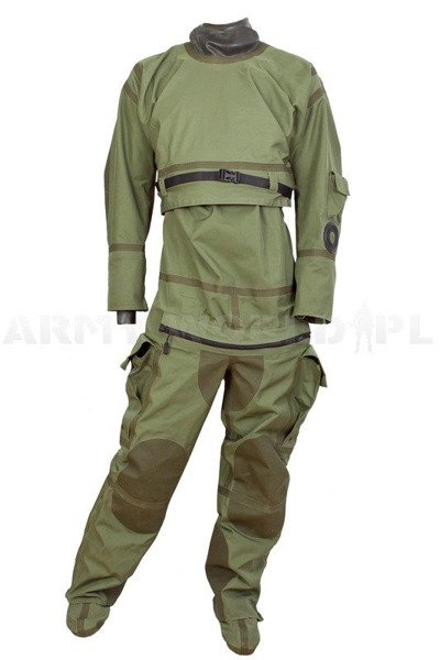 Waterproof Coverall Ursuit Dutch Army Original Oliv Used