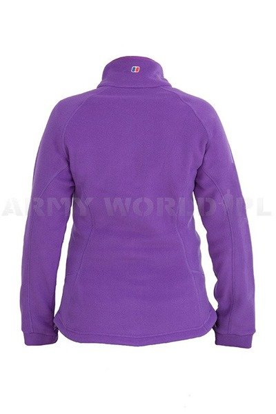 Women's Fleece Jacket Berghaus Prism Fleece Purple New