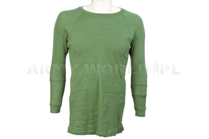 Military Undershirt Survival Aids Olive Oryginal Used