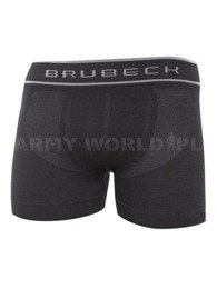 Sports Boxer Men's Shorts Swiss Cotton Brubeck Black New