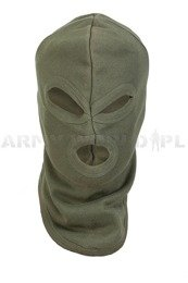 3-hole balaclava Profesional cotton Oliv Mil-tec New