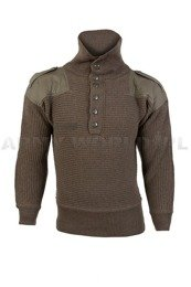 Austrian Wool Sweater Rifleman Oliv Mil-tec New