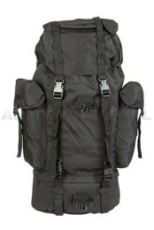 Backpack Import Black 65 Liters Mil-tec New
