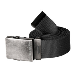 Belt Canvas Helikon With metal buckle BLACK