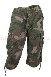 Bermuda Pants MiltecTrousers 3/4  US Air Combat Woodland