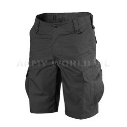 Bermuda shorts CPU Helikon-tex Ripstop Black Military shorts New