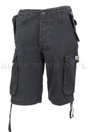 Bermuda shorts PARATROOPER Shorts Black Mil-tec New