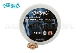 Blank Cartridges WALTHER 6 mm Short 100 pcs.
