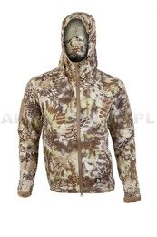 Breatheable Jacket Hardshell Mandra Tan Mil-tec New