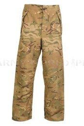 British Military Rainproof Trousers MVP MTP (Multi Terrain Pattern) Original Used