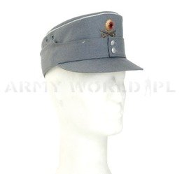 Cap of Mountain Troops Officer Version Bergmütze With Decoration Original New