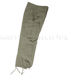 Cargo Pants Tessar ACU Army Combat Uniform Camouflage Oliv Ripstop New