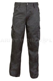 Cargo Trousers Zephyr PolyCotton Black New