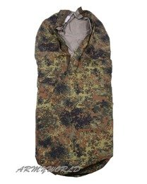 Case For Sleeping Bag Gore-tex Military Flecktarn Original Demobil