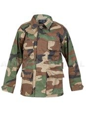 Children's shirt  Woodland Model US BDU Mil-tec New