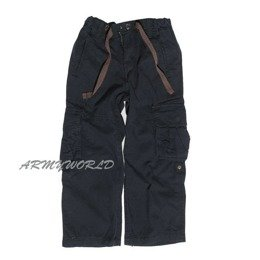 Children's trousers New model Black Mil-tec New