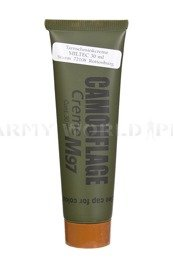Cream/Masking Paint NATO M97 30ml Brown Original New