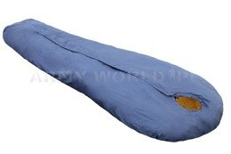 Danish Military Sleeping Bag CARINTHIA EXPLORER TOP MF Summer Version Blue&Orange Original New