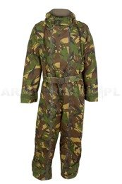 Dutch Waterproof Warmed Military Suit Overall  DPM Woodland Used