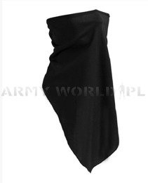 Face veil / Half balaclava New Model  Mil-tec Black New