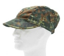 Field Cap Of Air Forces LUFTWAFFE Bundeswehr Flecktarn Original Demobil