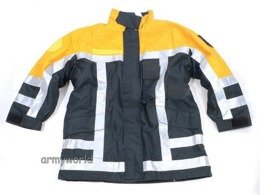 Firefighter Jacket Nomex / Gore-tex Flame-retendant and Waterproof Dutch Original Used