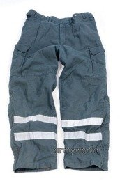 Firefighter Trousers Nomex / Gore-tex Flame-retendant Waterproof Dutch Horizontal Reflectors New