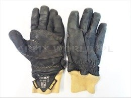 Firefighter's Gloves JUBA 311 BG Gore-Tex Original Used Military Surplus