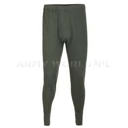Flame-retendant Underpants Texplorer Bundeswehr 100% Aramid Oliv Demobil SecondHand