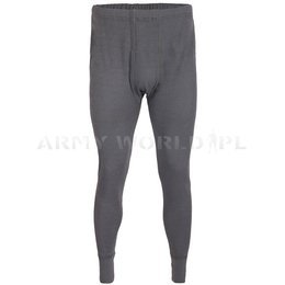 Flame-retendant underpants Texplorer Bundeswehr 100% Aramid Grey Demobil SecondHand