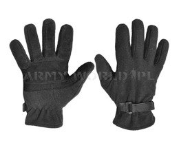 Fleece Tactical Gloves With Windstopper Texar Black New