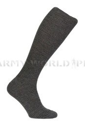 German Police Socks Long Grey New