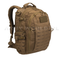 Hextac Backpack 25 Liters Mil-tec Dark Coyote New