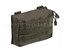 Horizontal Belt Pouch Molle Mil-tec SM Olive New
