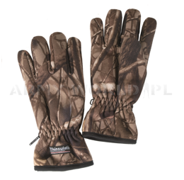 Hunting Gloves  Wild Trees Gore-tex Mil-tec No-swishing, Autumn camouflage