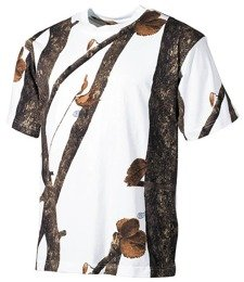 Hunting T-shirt Wild Tress Winter camouflage, MFH