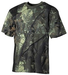 Hunting T-shirt Wild Tress summer camouflage, MFH