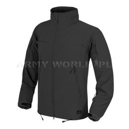 Jacket Helikon-Tex COUGAR® QSA™ + HID™ Soft Shell Windblocker Black