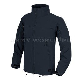 Jacket Helikon-Tex Cougar® QSA™ + HID™ Soft Shell Windblocker Navy Blue