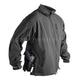 Jacket Jackal SoftShell Helikon-Tex Shark Skin black