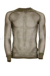 Long Sleeve Thermoactive Mesh Undershirt Aclima Olive Oryginal Used