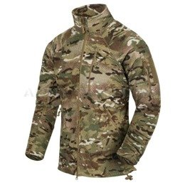 MILITARY FLEECE JACKET Helikon Alpha Tactical Camogrom NEW