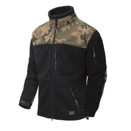 MILITARY FLEECE JACKET New Infantry Helikon-tex PL Camo - BLACK ORIGINAL NEW