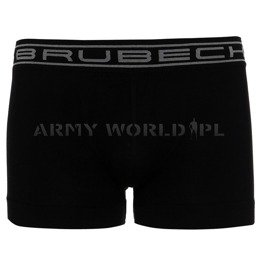 Men's Boxers Comfort Cotton Brubeck Black New
