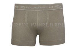 Men's Boxers Comfort Cotton Brubeck Olive New SALE