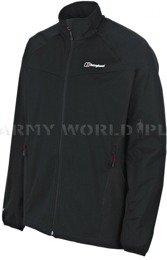 Men's Jacket SoftShell WindStopper Cadence Bergaus Black New