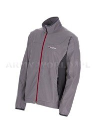 Men's Jacket SoftShell WindStopper FAROE Bergaus Grey New