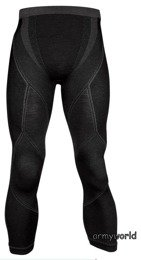 Men's Pants Extreme Merino Brubeck Black New