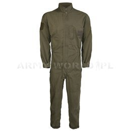 Military Austrian Coveralls Oliv Ripstop Demobil