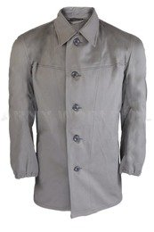Military Austrian Shirt Grey Original Demobil
